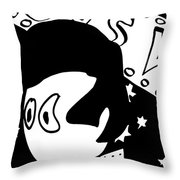 Cronkle Presley Throw Pillow by Jera Sky