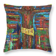 Cross 3 Throw Pillow
