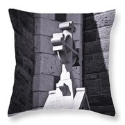 Cross At St. Johns Tralee Ireland Throw Pillow