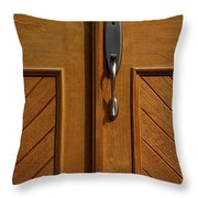 Cross Handle Throw Pillow