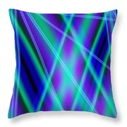 Cross Lighting Throw Pillow