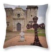 Cross Markers Throw Pillow