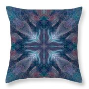 Cross Of Mentors Throw Pillow