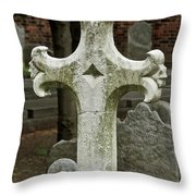 Cross Of Old Throw Pillow