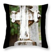 Cross Of Stone Throw Pillow