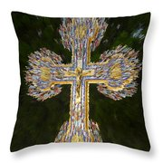 Cross Of The Epiphany Throw Pillow