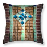 Cross On The Wall Throw Pillow