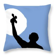 Cross Sky Throw Pillow
