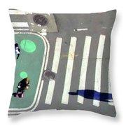 Cross Walk Throw Pillow