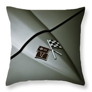 Crossed Flags Throw Pillow