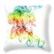 Crossed Paths Throw Pillow