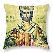 Crosses Dress Throw Pillow