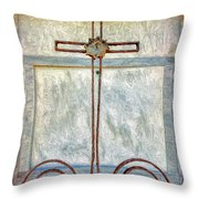 Crosses Voided - Artistic Throw Pillow