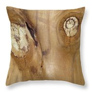 Crosseyed Throw Pillow