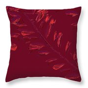 Crossing Branches 14 Throw Pillow