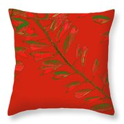 Crossing Branches 16 Throw Pillow