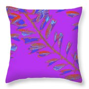 Crossing Branches 19 Throw Pillow