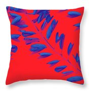 Crossing Branches 2 Throw Pillow