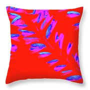 Crossing Branches 3 Throw Pillow