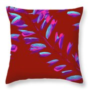 Crossing Branches 7 Throw Pillow