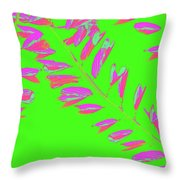 Crossing Branches 9 Throw Pillow