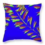 Crossing Branches10 Throw Pillow