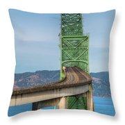 Crossing Columbia Throw Pillow