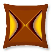 crossing III Throw Pillow