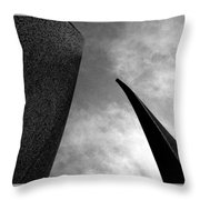 Crossing Into Vision Throw Pillow