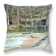 Crossing Throw Pillow
