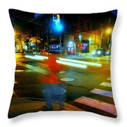 Crossing Pearl Throw Pillow