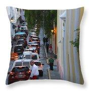 Crossing San Juan Throw Pillow