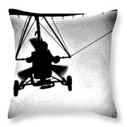 Crossing The Air Throw Pillow