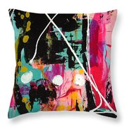Crossing Time Throw Pillow