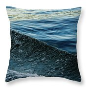 Crossing Waves Throw Pillow