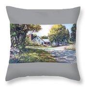 Crossroads Farmhouse Throw Pillow