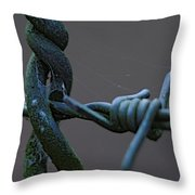 Crosswired Throw Pillow by Sean Green