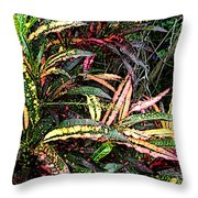 Croton 1 Throw Pillow