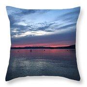 Croton Sky Throw Pillow