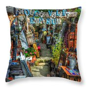 Crouch Valley Emporium Throw Pillow