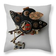 Crow Home Throw Pillow
