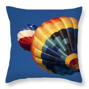 Crowded Pattern Throw Pillow