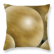 Crowded Universe Throw Pillow