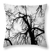 Crowding  Throw Pillow
