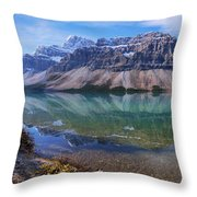 Crowfoot Reflection Throw Pillow