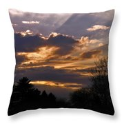 Crown Cloud Throw Pillow