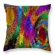 Crown Jewels Throw Pillow