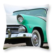 Crown Victoria Throw Pillow