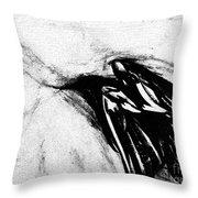 Crows  Fall Throw Pillow