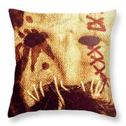 Crows For The Eating Throw Pillow